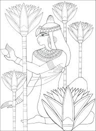Ancient Egyptian Coloring Pages Ancient Coloring Pages Ian Page