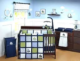 nautical crib bedding girl baby sailboat sets boy nursery set