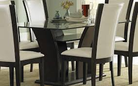 white small set dark top wood chairs round modern designs wooden delightful and seater dining table