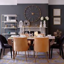 grey dining room upholstered chairs