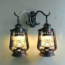 sconces oil lamp sconces sconce vintage industrial rubbed bronze wall with 2 lights full size
