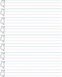 Hand Writing Sheets Blank Penmanship Sheet Handwriting Sheet
