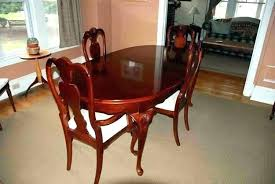 cherry dining chairs i brown set table with regard to room decorations 15