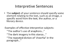 how to write a formal essay your title think of your title as  8 interpretive sentences