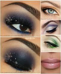 10 stylishly festive christmas makeup ideas