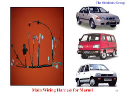 srinisons group ppt download Delphi Wiring Harness In Chennai main wiring harness for maruti Trailer Wiring Harness