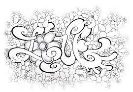 25 Zoeken Love Graffiti Kleurplaat Mandala Kleurplaat Voor Kinderen