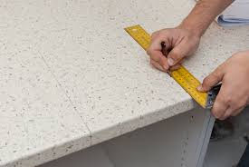 how to cut a hole in laminate countertop marking the gui lines