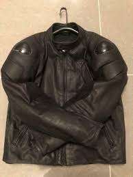 dainese street darker leather motorcycle jacket