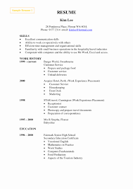 How To Write A Resume Skills Hotel Industry Resume Format Unique Skills On Resume Examples How To 14