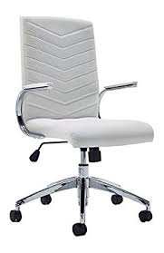 nice office chairs uk. Baresi White Office Chair With Padded Armrests And Chrome Base For The Or Home Nice Chairs Uk