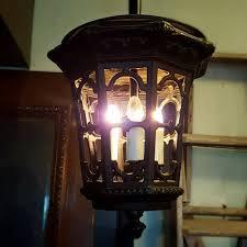 pendant lantern fixture vintage pendant
