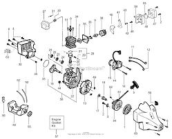 Poulan pt17 gas trimmer parts diagram for engine