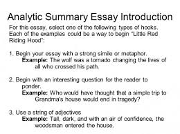 hook for an argumentative essay exle