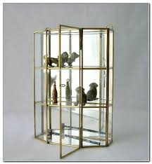 hanging curio cabinet glass and brass wall curio cabinet wall curio cabinet shadow box