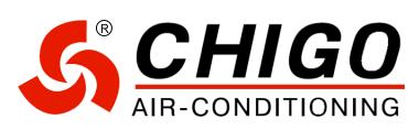 air conditioning logo. chigo air conditioning logo