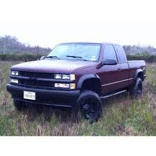 My 1995 Chevy Silverado 6 inch lift on XD Rockstar wheels and ...