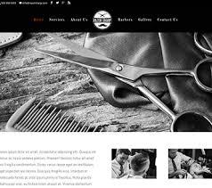 Barber Shop Website Barber Shop Websites Barbershop Website Design