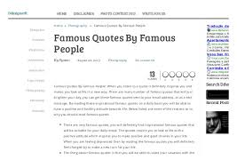 Quotes Website 75 Wonderful Famous Quotes By Famous People Ddesigner R