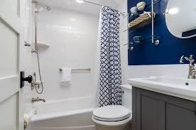Beautiful subway tile bathroom remodel renovation Master Bathroom Blue And White Bathroom Remodel With Subway Tiles In Lee Collier County Hey There Home Bathroom Remodeling In Lee Collier County Fl Oneil Industries Inc