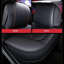2 pcs universal car seat cover pu