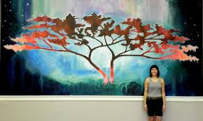 oneness mural jaison cianelli university baptist church rachael  on mural wall artist with oneness painted wall mural