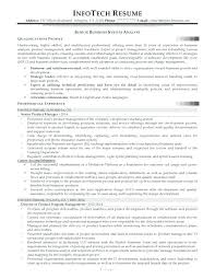 Sample Analyst Resume Data Quality Analyst Resume Example Examples Business System Sample
