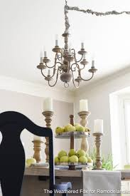 the weathered fox chandelier makeover 9 the weathered fox chandelier makeover 10