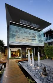 architecture modern houses. Fine Modern Elegant Black Facade Futuristic Modern Home Throughout Architecture Modern Houses
