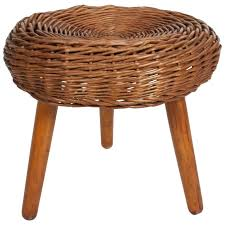 rattan stool high uk round table