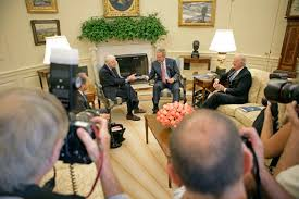 jimmy carter oval office. jimmy carter and secretary of state james baker cochairs the carterbaker commission on federal election reform in oval office monday v