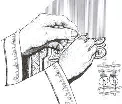 oriental rug knots