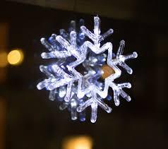 Led Schneeflocke Fensterdeko Weihnachten Weihnachtsdeko Beleuchtung Fensterbild Dynamic 24de