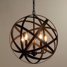 orbit chandelier f decating white patrick townsend z gallerie