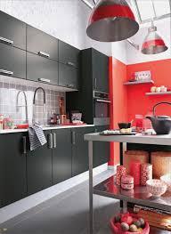 Deco Cuisine Rouge Et Gris Design De Maison