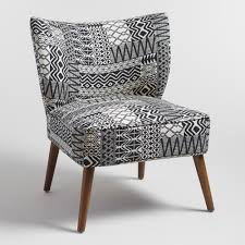 Small Upholstered Chairs For Bedroom Tribal Jacquard Delani Upholstered Accent Chair Upholstery