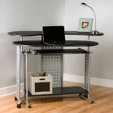 corner office desk hutch. Image Of: Corner Desk Hutch Wooden Black Office