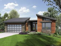 small modern house plans. Small Modern House Plans One Floor Home Design O