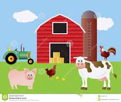 farm barn. Royalty-Free Stock Photo Farm Barn