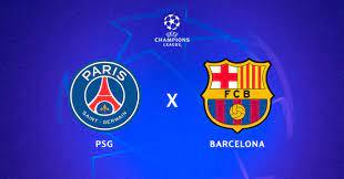 ASSISTIR AO VIVO AGORA Paris Saint-Germain x Barcelona pela Liga dos  Campeões, a Champions 20/21, QUARTA (10/03)