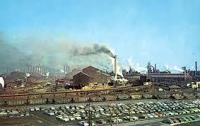 gary works steel mill gary steel works united states steel corporation 1959 flickr