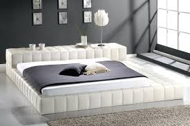 modern beds for incredible white leather bed round design furniture south africa