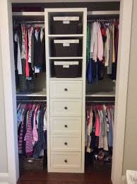 ikea closet organization tips and container image