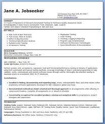 manual testing resume new 2017 resume format and cv samples