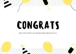 Congratulations Letter Templates Congratulations Letter Template Word Yellow And Black Dots Card