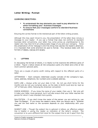 Letter Writing Format National University Of Singapore