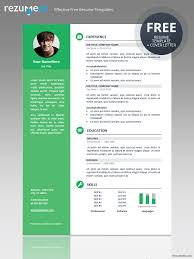 Free Template Resume Magnificent Resume Templates Pdf Format Resume Templates Pdf Format