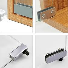 details about 1pair glass door pivot hinge for free swinging glass doors polished chrome