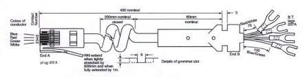 wiring information bt handset cord
