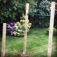 How To Build A Pull Up Bar Outside   YouTubeDiy Backyard Pull Up Bar